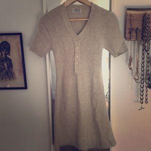Vintage angora dress